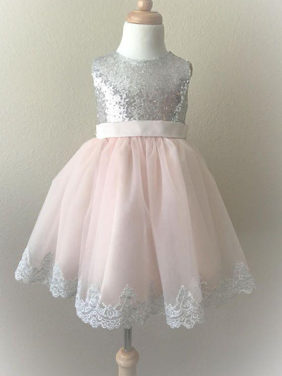 Flower girl dress wedding dresscouture infant dress girl