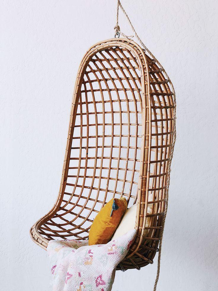 Vintage Bamboo Swing Chair Swingchair