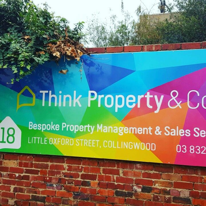 New signage Think Property & Co in Melbourne, VIC #thinkpropertyco #bespokeservice