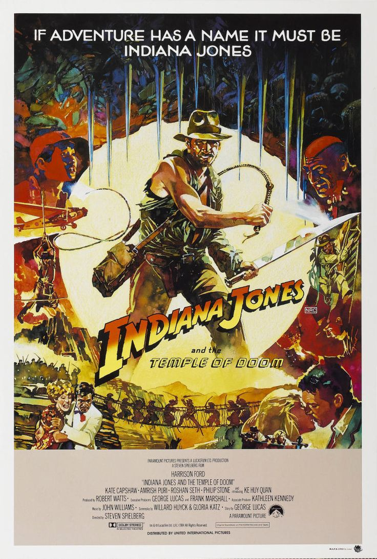 Indiana Jones and the Temple of Doom Poster 9 | GoldPoster
