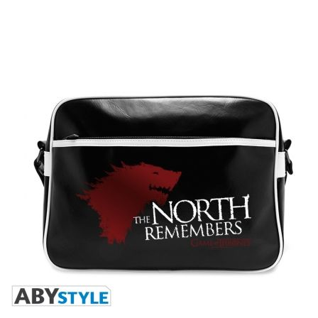 GAME OF THRONES Sac Besace Game of Thrones The North Remembers Vinyle