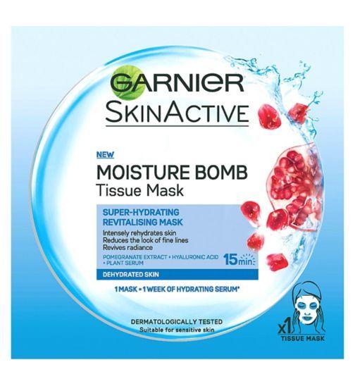 Garnier Moisture Bomb Tissue Mask - Boots