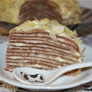 Рецепт торта тирамису из блинов