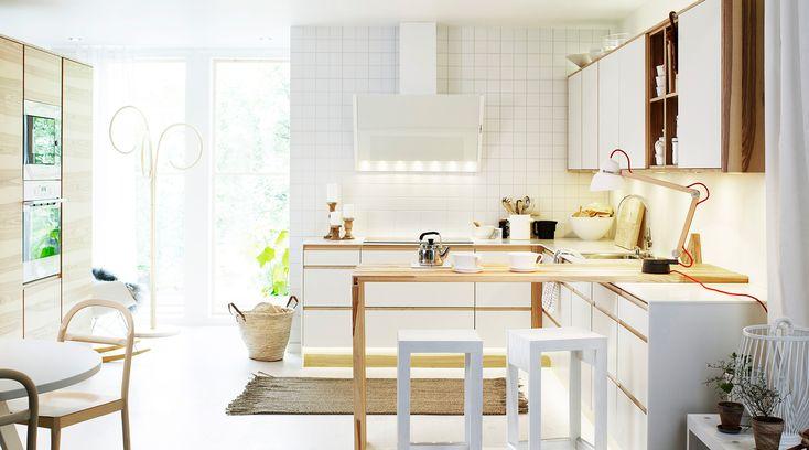 Hitta köksinspiration till ditt nya Vedum kök