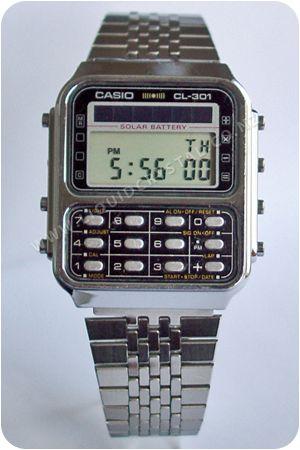 Casio Solar Calculator CL-301