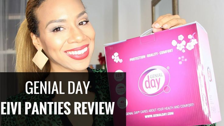 GenialDay.com Unboxing & Review: Do Period Panties Work? | Daisi Jo Reviews