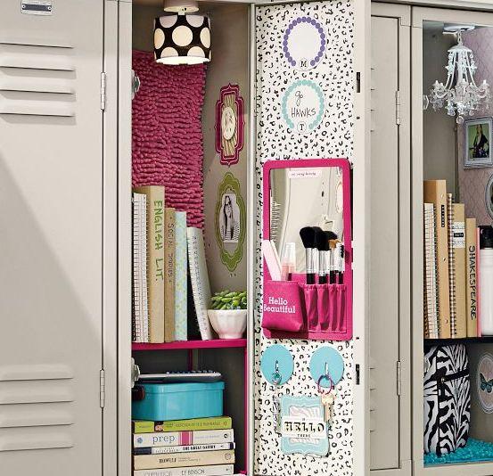 Best Lockers Images On Pinterest Locker Ideas Locker Stuff - Cute diy school locker ideas