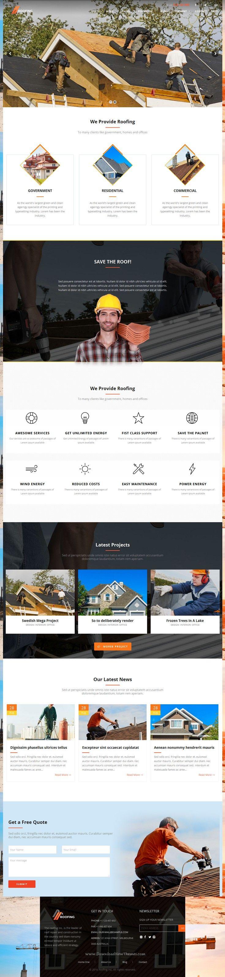 6321 besten Wordpress Theme Bilder auf Pinterest | Wordpress theme ...