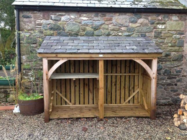 Log stores | Woodstyle Joinery
