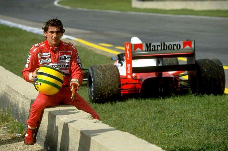 Ayrton Senna #F1 #World #Champion