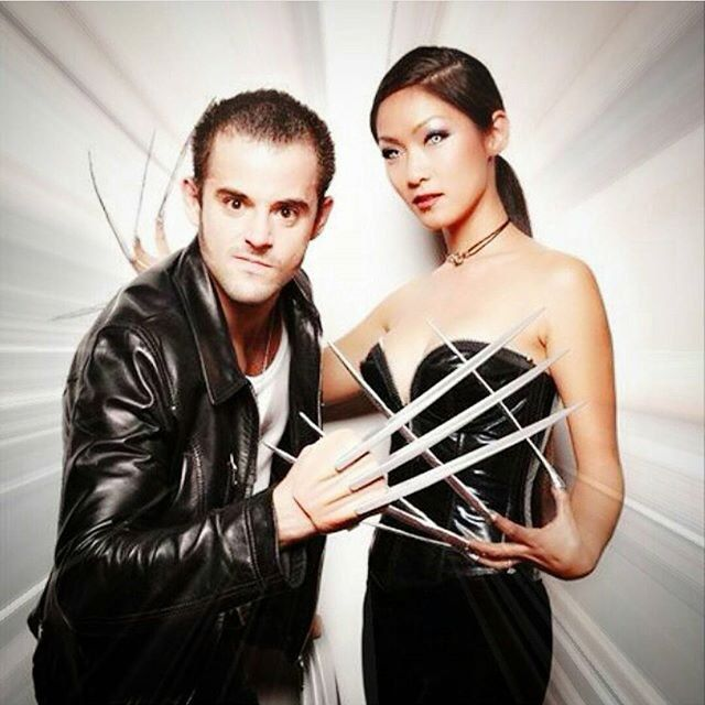 Pin for Later: 23 Kickass Comic-Book Costumes For Couples Wolverine and Lady Deathstrike