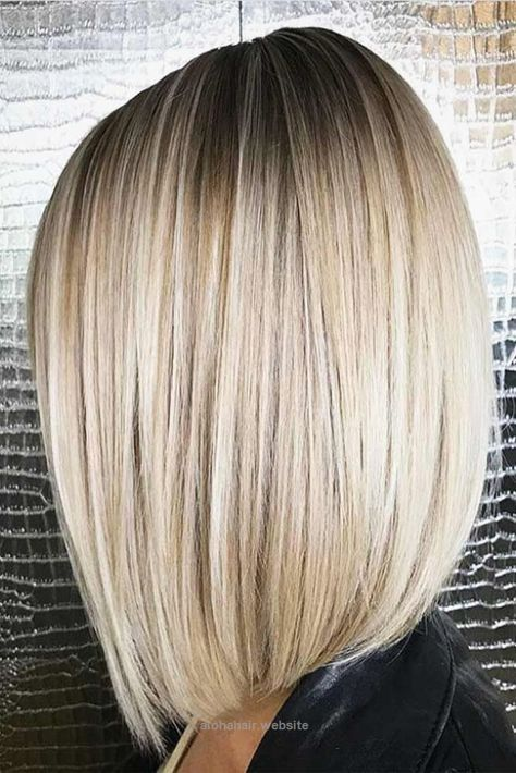 Look Over This 18 Amazing Ideas for Long Bob Haircuts ★ Straight Long Bob Hairstyles for Fast Perfect Look Picture 2 ★ See more: glaminati.com/… #longbobhaircuts #bobhairstyle The post 18 Amazing Id ..