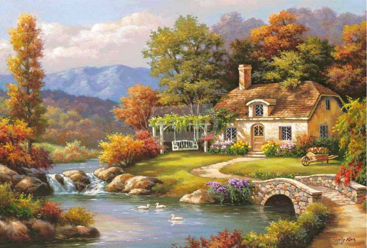 El. Cottage Stream Sung Kim
