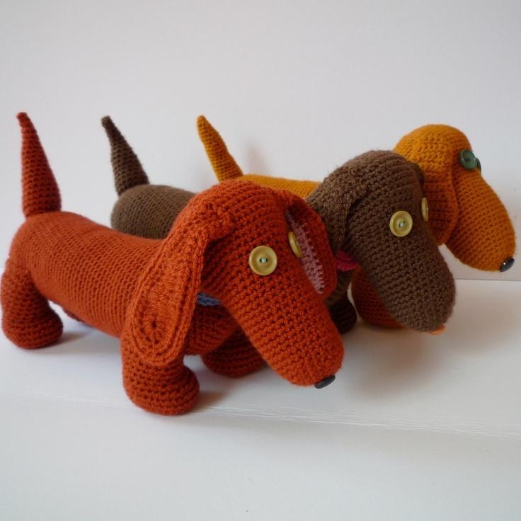 Dachshund puppy - crochet
