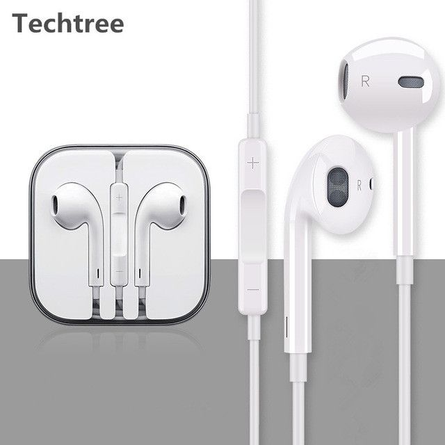 Original 3.5mm jack Earphones & Headphones super bass headphones quality stereo with microphone for iphone samsung xiaomi pc mp3