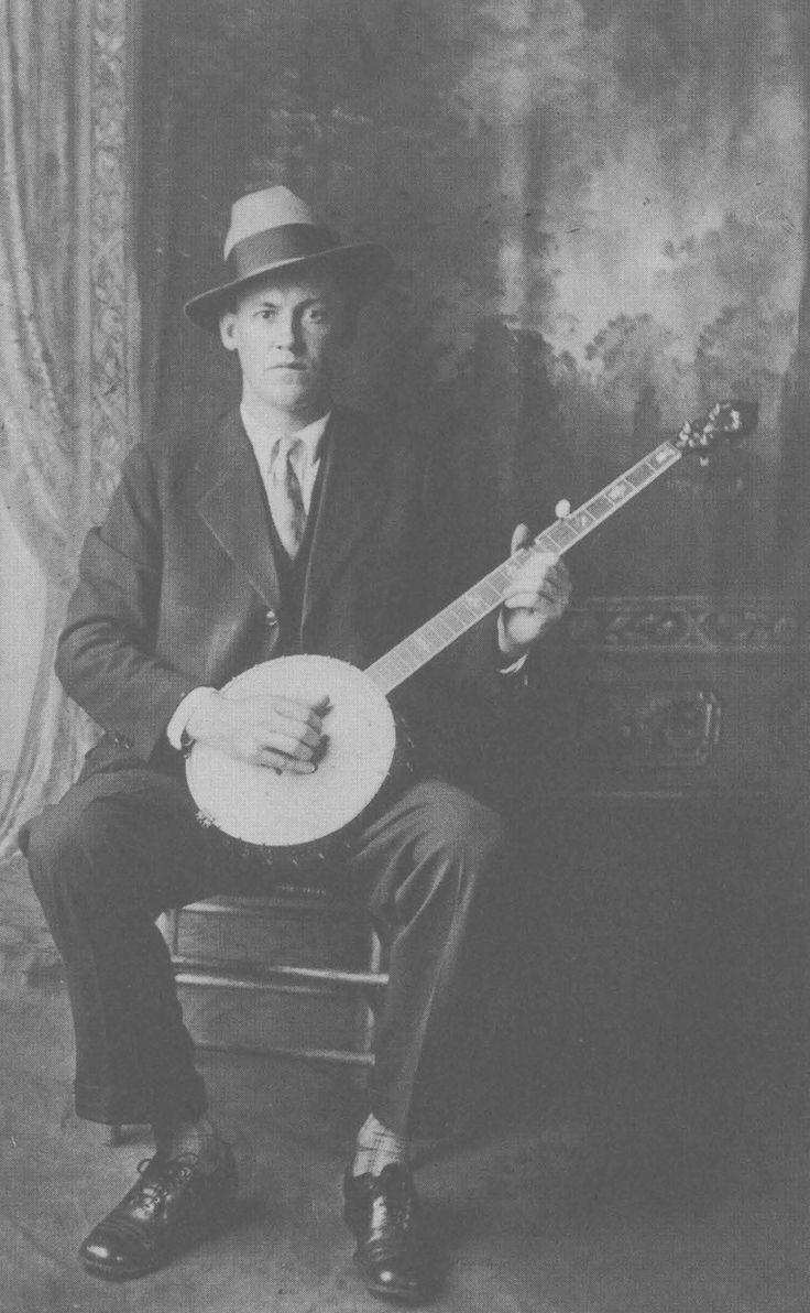 Dock Boggs w/ banjo.