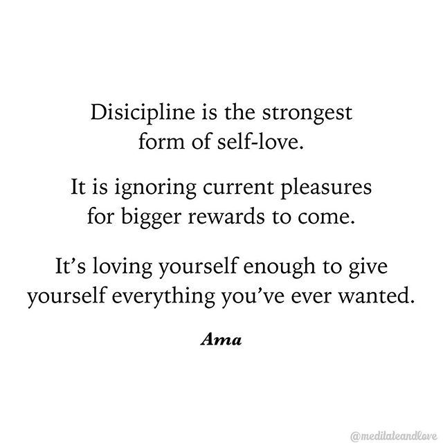 The Power Of Self Discipline Sacrifice For The Life You Want Meditateandlove Determination Quotes Inspiration Discipline Quotes Sacrifice Quotes