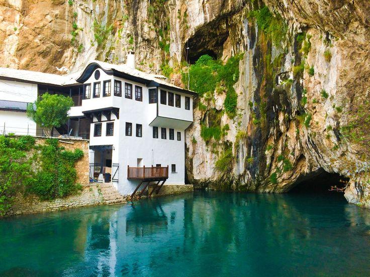 blagaj Bósnia e Herzegovina 10 lugares para se conhecer na Europa
