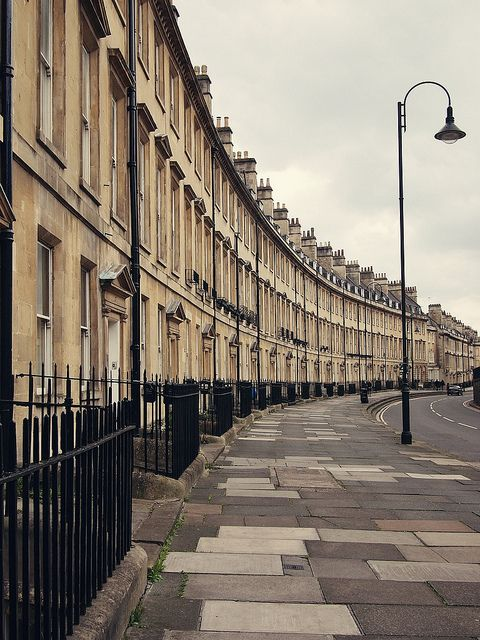The Royal Crescent - Bath, England