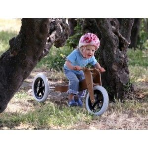 Wishbone 3 in 1 Running Bike - Natural