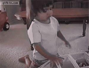 Das Drama, wenn das Kind nicht vorne sitzen darf.