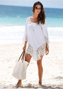 Пляжное платье, bpc selection, белый