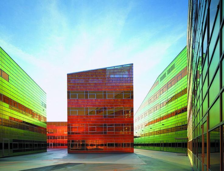 Gallery Of Monolit Office Building Igloo Architecture: 27 Best COLORFUL Building Images On Pinterest