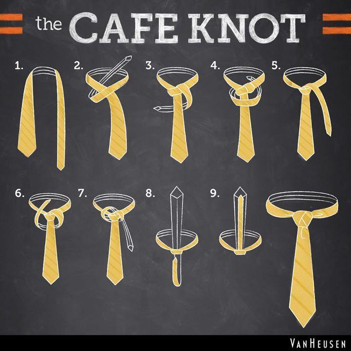 16 best Tie Knot Steps images on Pinterest