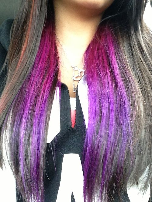 1000+ Ideas About Underneath Hair Colors On Pinterest | Dark Highlights Blonde Curly Hair And ...