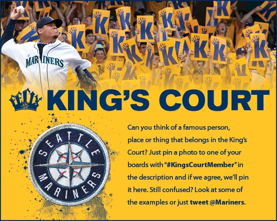 Read the #KingsCourtMember instructions above. #Mariners