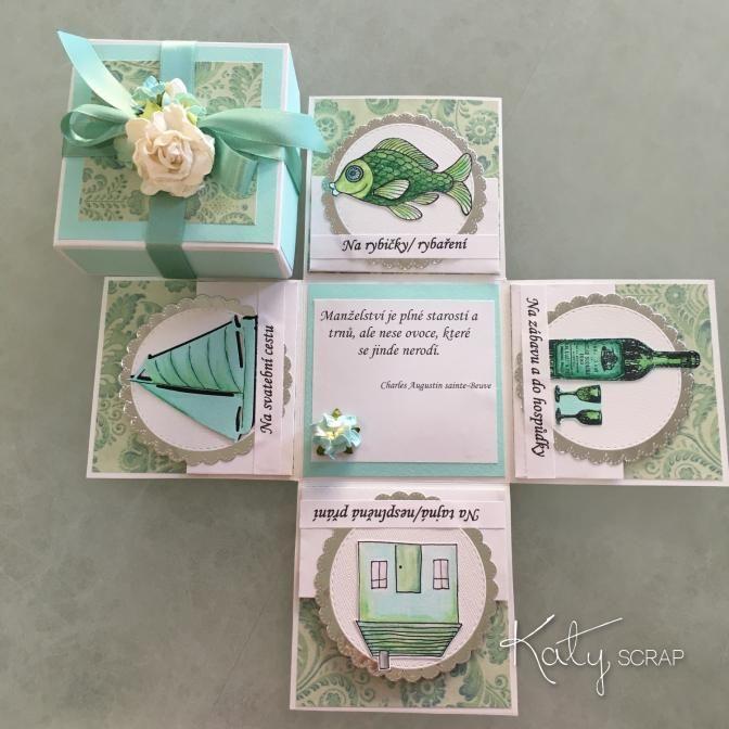 Fler BLOG   Katy scrap / Vaše svatební darovací krabičky