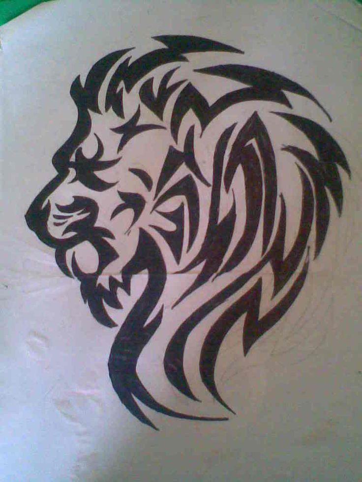 Tribal Lion- nice!