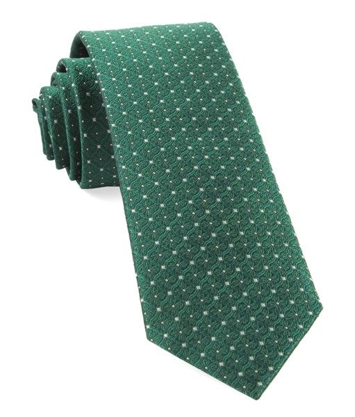 Handkerchief - Solid green with red & yellow specks & green edges Notch acKYSMDs
