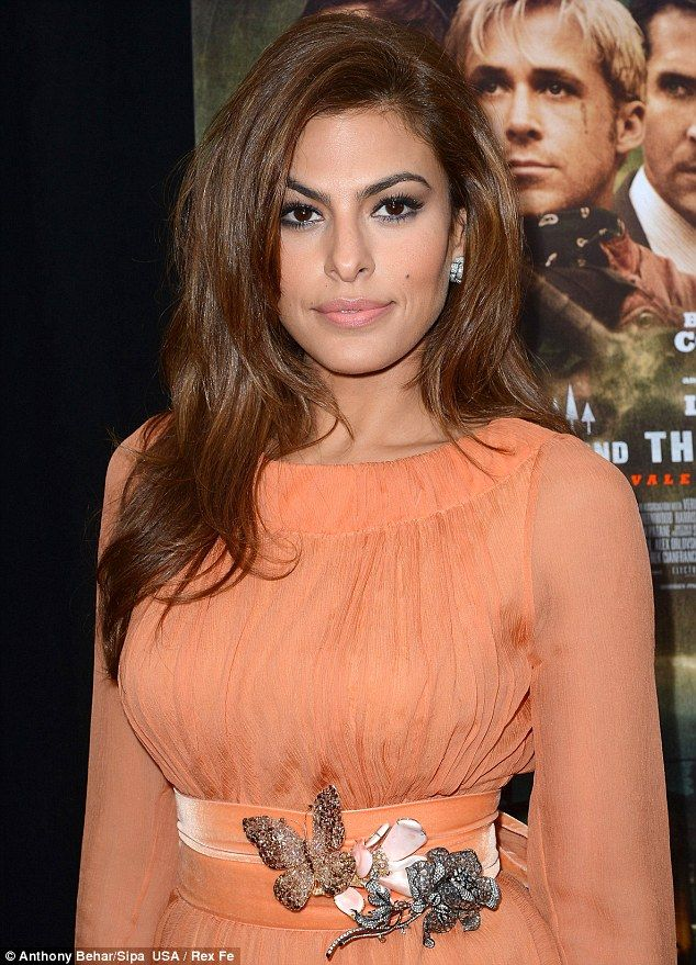 """Eva Mendes at """"The Place Beyond the Pines"""" film premiere in New York City, March 2013."""