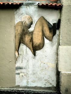 Philippe Hérard - street art - paris 20, rue des couronnes (mai 2014) #streetart jd