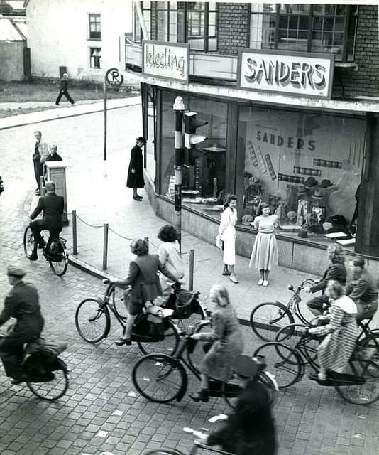 Vintage bike photo | Holland 1949 by Stockholm Transport Museum Commons, via Flickr