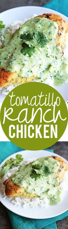 I just add salsa Verde to homemade ranch (made with Greek yogurt), but it's the same concept!