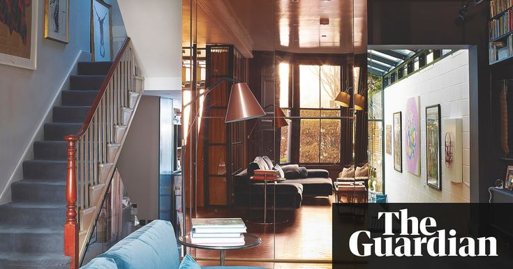 The writer's work means she spends much of her time in Los Angeles – so she and her husband installed a rose gold mirrored cube in their house in Hackney to nod to the city's sunset skies