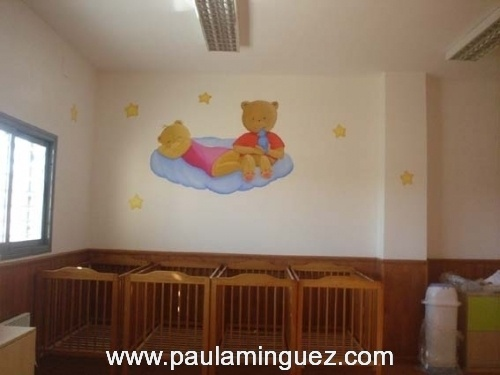 Murales murales murales infantiles murales pintados for Cuadros infantiles al oleo