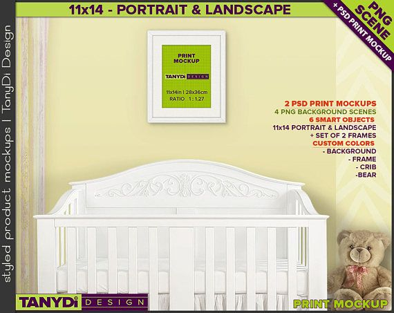 nursery styled interior print set white portrait landscape frame 11x14 picture ikea with mat walmart