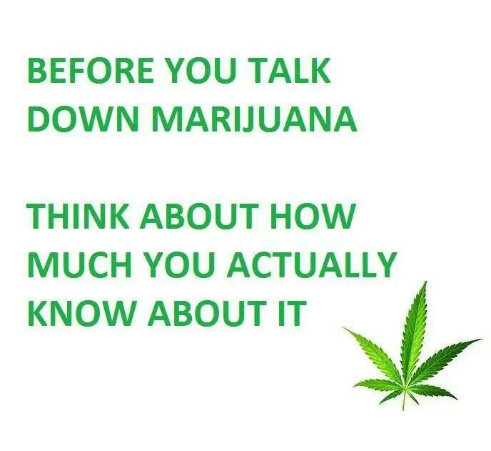 Before you talk...know.