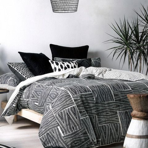 Ghana Quilt Cover Set by Linen House