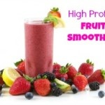 Protein fruit smoothie, Natural honey and Protein on Pinterest