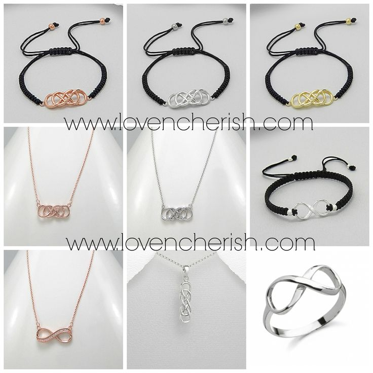 New Gold, Rose Gold and Silver Infinity symbol keepsakes loaded to our website this weekend! These make great stocking fillers priced from only $15-$35! View and purchase now at www.lovencherish.com