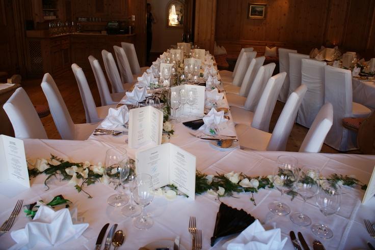 Hochzeit #Hochzeitsfeier #Restaurant (via @stanglwirt) - www.stanglwirt.com
