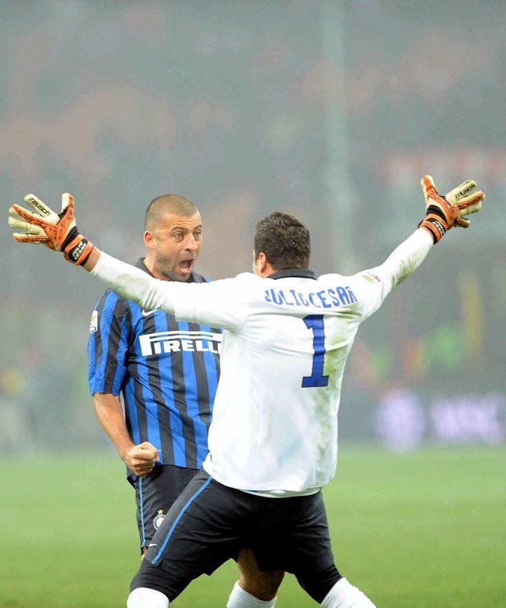 Walter Samuel & Julio Cesar - Inter Milan