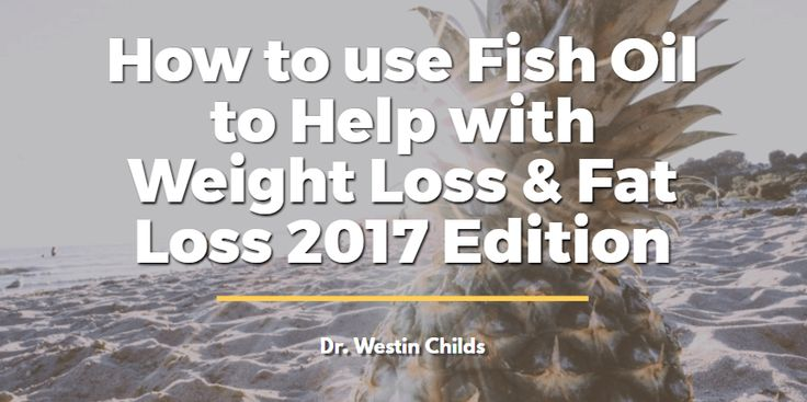 Fish oil can help with weight loss through its powerful effects on hormones that influence metabolism, appetite and how your body stores fat.