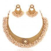 Masterclass Gold plated kundan set