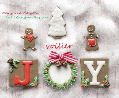 【募集】12/5,16クリスマスレッスン の画像|voilier(ヴォワリエ)九州 福岡市 アイシングクッキー、ポップケーキ、カップケーキ教室