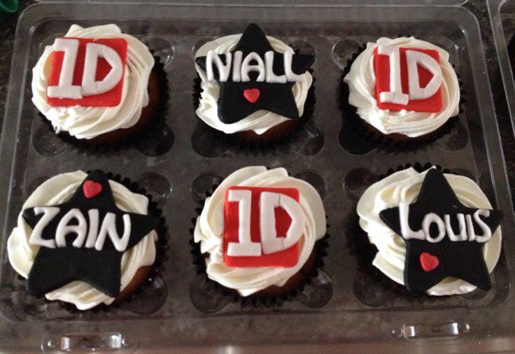 Cupcakes de one direction